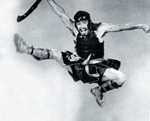 Toshiro Mifune in Seven Samurai