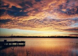 Jan's lake sunset