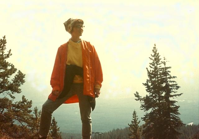 Hilary on Whitehorse Mountain