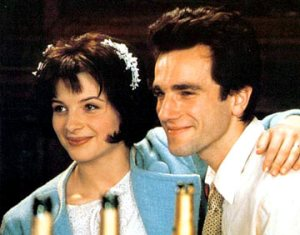 Daniel Day-Lewis and Juliette Binoche