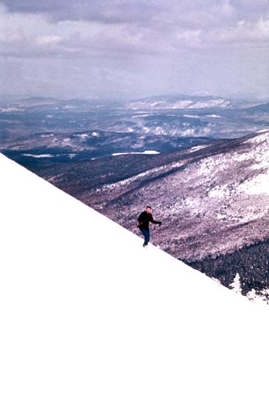 pk skiing snowfields at Sugarloaf