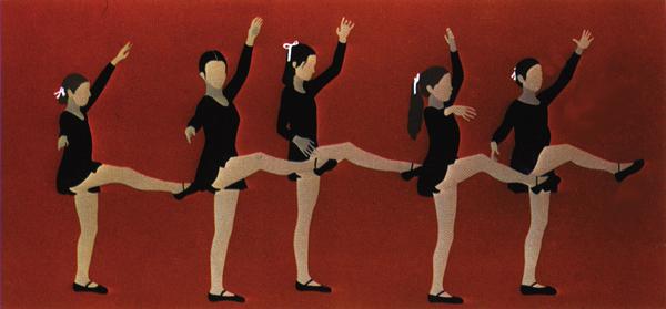 Gail Bruce, Ballet Dancers, serigraph